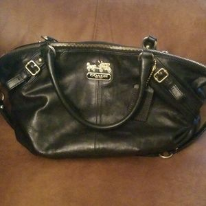 Authentic Coach Madison Sophia large purse